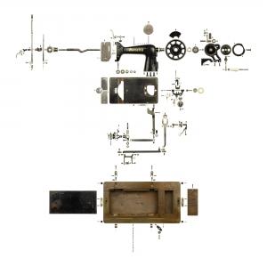 Gazelle-Sewing-Machine